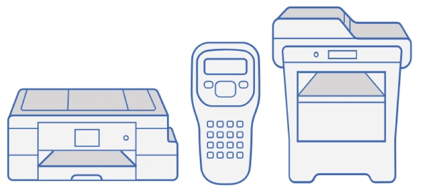 Brother product icons